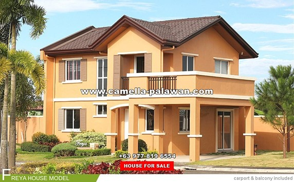 Camella Palawan House and Lot for Sale in Palawan Philippines