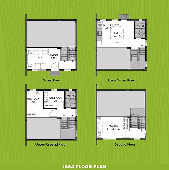 Issa Floor Plan House and Lot in Palawan