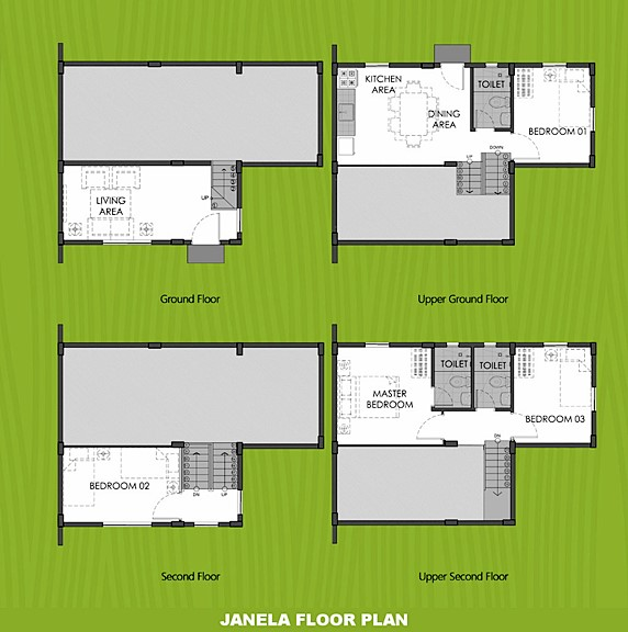 Janela Floor Plan House and Lot in Palawan