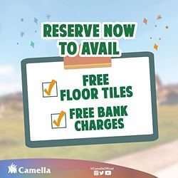Promo for Camella Palawan.